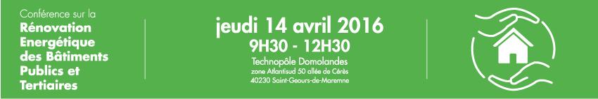 conférence rénovation énergétique des bâtiments publics et tertiaires