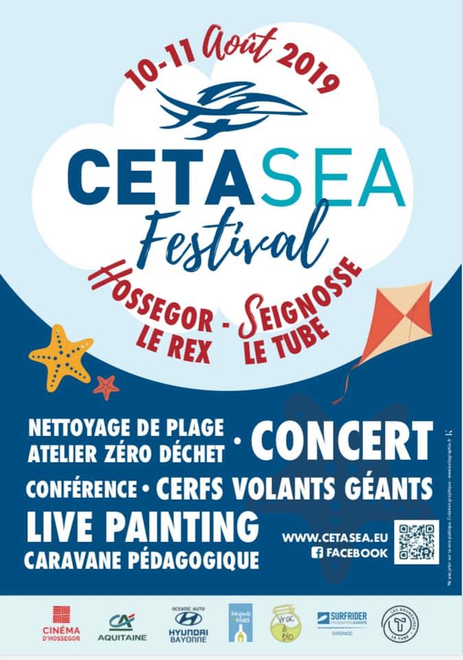 Cetasea Festival Du 10 Au 11 Aout 2019 Sur Hossegor Et Seignosse Technopole Domolandes