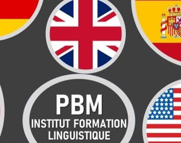 Logo PBM INSTITUT LINGUISTIQUE